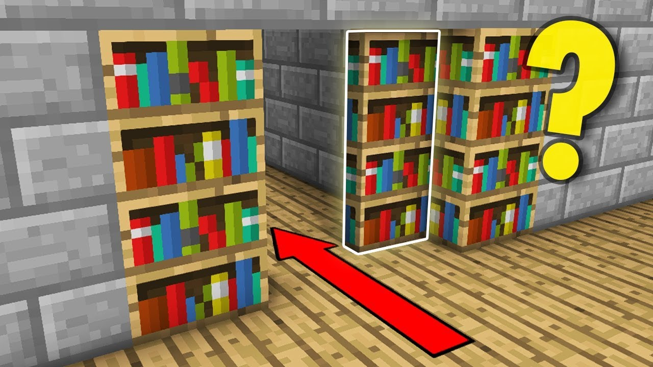 This Secret Room Will BLOW YOUR MIND - Minecraft How to Build Tutorial  (Hidden House)