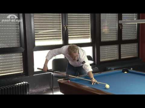 Baseline (deutsch), Ralph Eckert, Pool Billard Training