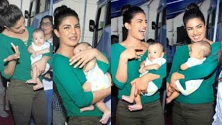 Priyanka Chopra Playing With Salman Khan Nephew Ahil