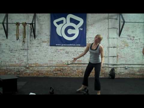 Delaine Ross, RKC TL demonstrates How to Perform the Kettlebell Swing Image 1