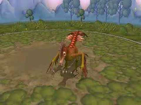 Spore - Realistic Archaeopteryx Video