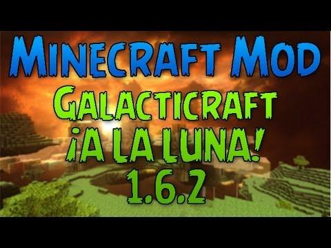 [1.6.2] Quien dijo que viajar a la luna en Minecraft era imposible?   Galacticraft Mod Review