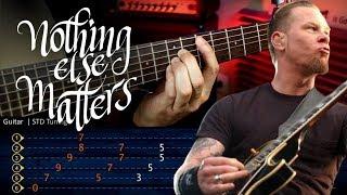 Nothing Else Matters Metallica Guitar Lesson Tabs Guitarra Christianvib