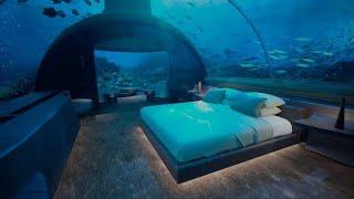 worlds-first-glass-underwater hotel