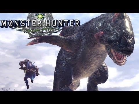 Monster Hunter World - MOST EPIC MONSTER vs MONSTER FIGHTS EVER! - Gameplay