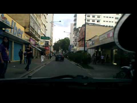 Ruas de Barbacena - MG - Rua XV - 31/05/2012
