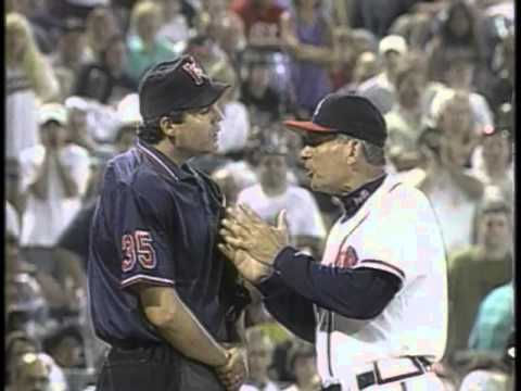 Bad Umpire - Gary Darling baits Tom Glavine