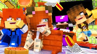 Minecraft Daycare - FOOD FIGHT !? (Minecraft Roleplay)
