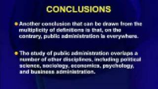 MGT111 Public Administration