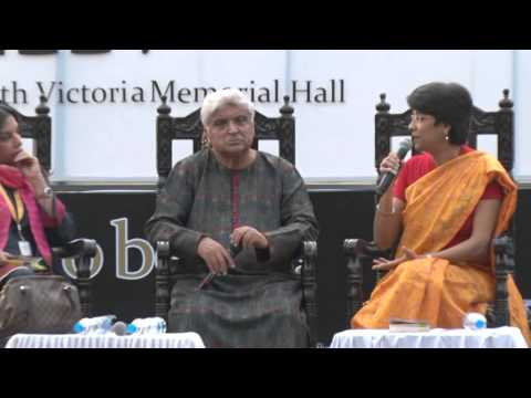 Javed Akhtar, Shabana Azmi at Tata Steel Kolkata Literary Meet 2015 -- Part 1