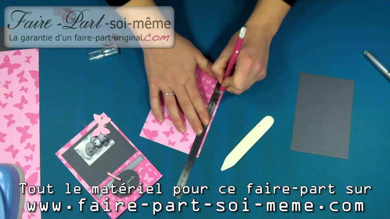Exemple de faire part de naissance fille margaux youtube - Maquillage a faire soi meme ...