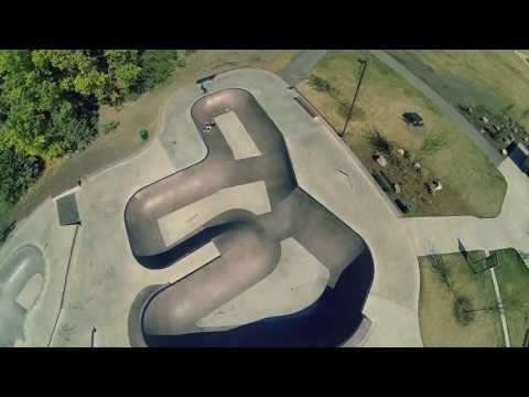 Glendale Skatepark - Red Deer, Alberta Aerial Video