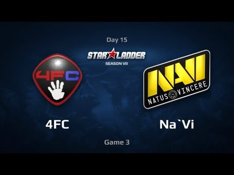Na`Vi vs 4FC, SLTV Star Series S VII Day 15
