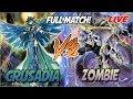 YuGiOh! Live Duel: Crusadia vs Zombie |Insane Match With Hidden Meta Decks!|