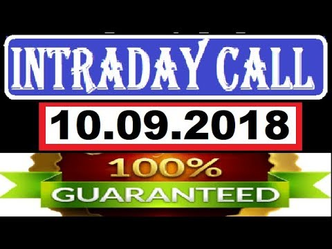 IntraDay Top 4 Jackpot Call  10.09.2018 || today stock || intraday || best stock for 2018