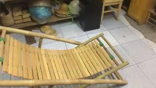 Vlog # 7 |Tre Lá Đạt Thành - Ghế Tre  Tựa Ngồi Bãi Biển - Du Lịch |(Bamboo Chairs Beach Title)