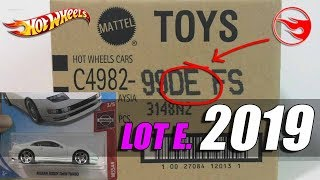 Hot Wheels 2019 E Case Unboxing Diecast - Finally the Nissan series is complete