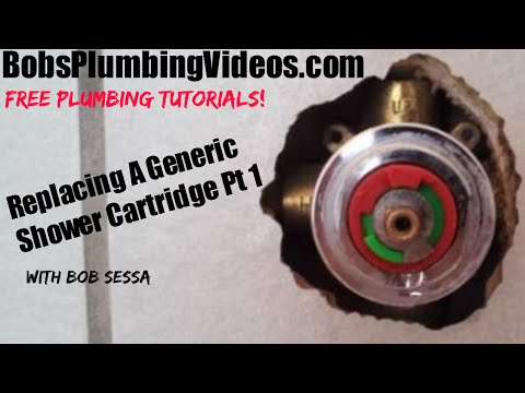 How To Replace A Generic Tub & Shower Single Lever Cartridge - Part 1