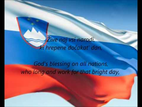 "Slovenian National Anthem - ""Zdravljica"" (SL/EN)"