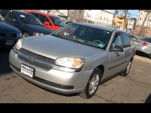 2005 Chevrolet Malibu Vehicle Overview