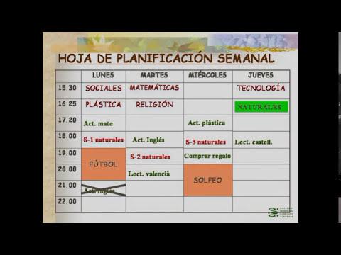 ¿Cómo hacer una planificación?
