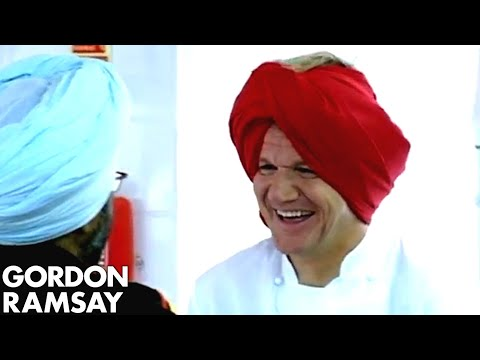 Recipe challenge with Hardeep Singh Kohli - Gordon Ramsay