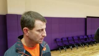 TigerNet.com - Dabo Swinney talks about the College Football Playoff