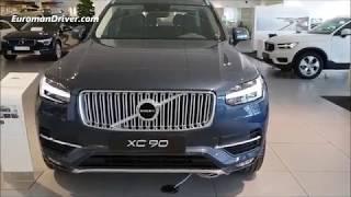 Volvo XC90 2020 Walk-Around Review (Inscription Line + Seven Seats SUV) EuromanDriver Car Reviews