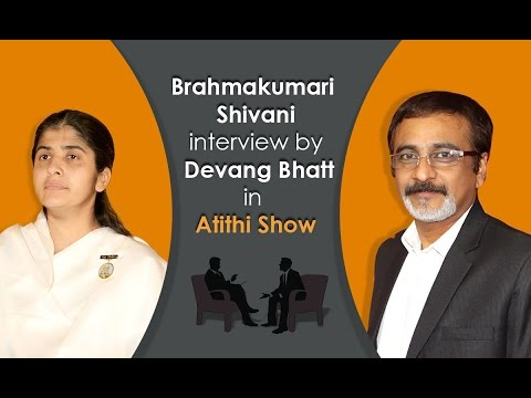 Exclusive Interview With Brahmakumari Shivani Didi By Devang Bhatt video