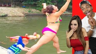 TRY NOT TO LAUGH Funny FAILS Compilation Part 2 ft Lauren Francesca