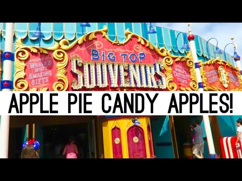 Apple Pie Candy Apples!  | Feb-March Disney World Vlogs | Disney At Heart
