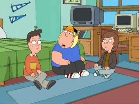 Family Guy - Chris Griffin eats Magic Mushrooms Video