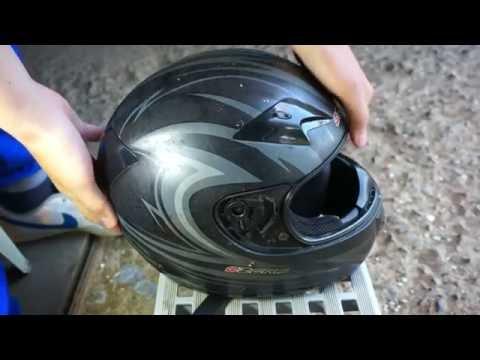 Как покрасить шлем. Подготовка - Видеоинструкции: Как сделать своими руками