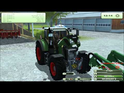 Mod for Farming Simulator 2013 the Fendt Vario 724 REVIEW