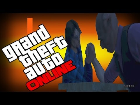 GTA 5 Online Funny Moments - More Windmills , Arm Wrestling.