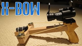 Homemade Rubber Crossbow
