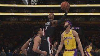 Los Angeles Lakers vs Portland Trailblazers NBA Live Full Game Highlights | Lakers vs Blazers