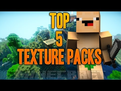 TOP 5 PACKS DE TEXTURAS   MINECRAFT 1.7-1.8 + DESCARGA