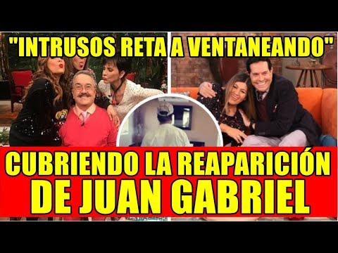 INTRUSOS RETA A VENTANEANDO CUBRIENDO LA REAPARICIÓN DE JUAN GABRIEL