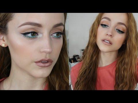 Metallic Lips | Drugstore Makeup Tutorial Using Affordable Brushes