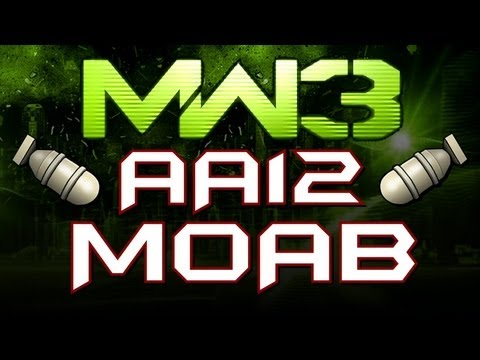 MW3 Online - 96 SECOND AA12 MOAB!!