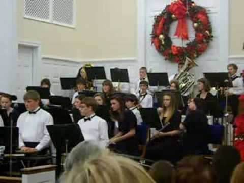 Swain County High School Concert Band First Baptist Church 12-1-13 Part 6
