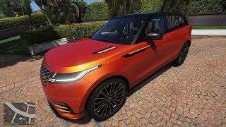 GTA 5 - Michael chạy Range Rover Velar chở gia đình đi chơi và khám phá hầm mỏ | ND Gaming