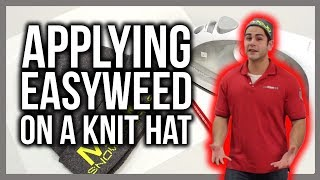How to apply EasyWeed to a Knit Hat