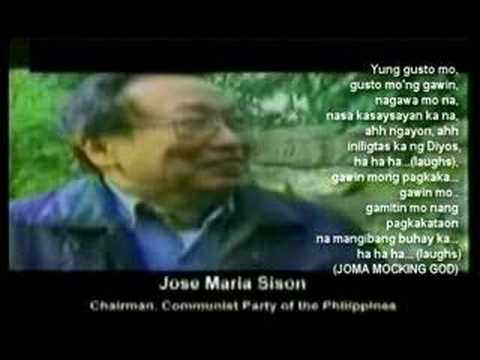 Joma Sison is an Anti-Family, Anti-God
