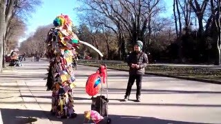 Clown in Varna -  Bulgaria   КЛОУН 2015