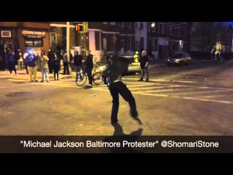 Michael Jackson Riots in Baltimore