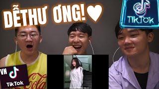 (Reaction )Tik Tok Việt Nam - Những khoảnh khắc THÚ VỊ | Những anh em Hàn Quốc한국남매들