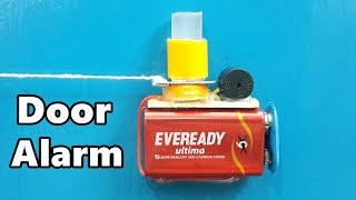 How to Make a Simple Trip Wire Alarm for Door at Home