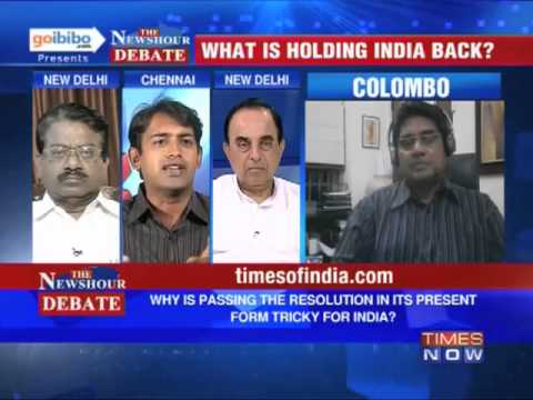 The Newshour Debate: Why is Sri Lanka's resolution tricky for India? (The Full Debate)
